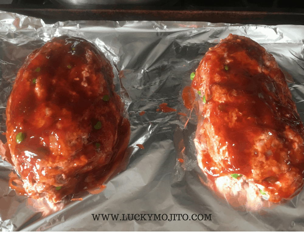 meatloaf ready for oven