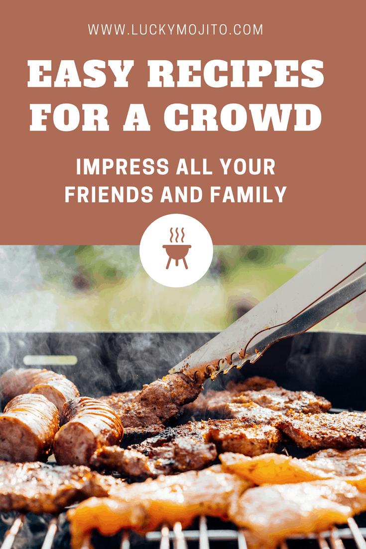 recipes to make for a big crowd