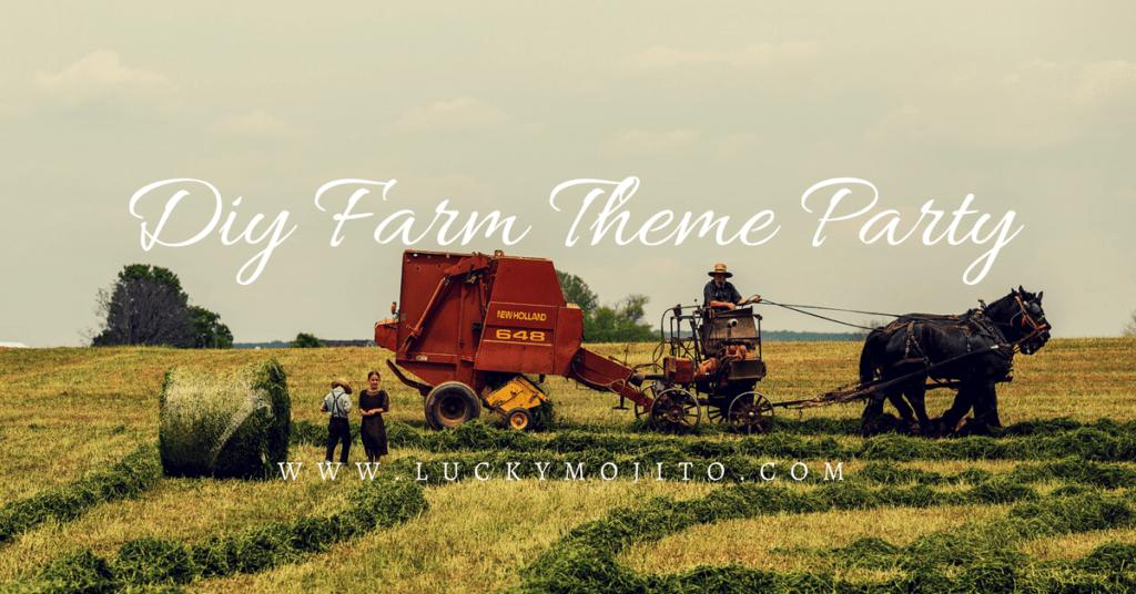 diy farm theme party