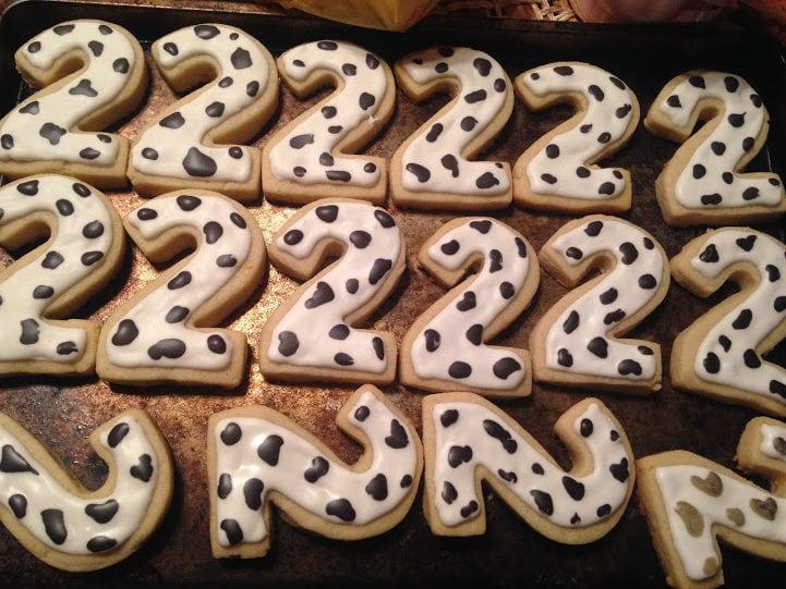 diy farm theme favor cookies