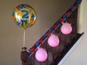 dy farm themed party pig balloons