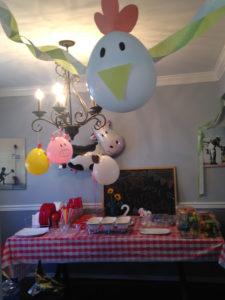 diy farm theme food table decorations