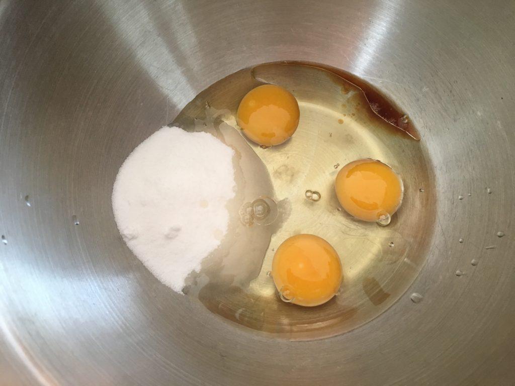 Hong Kong Egg Cake recipe ingredients