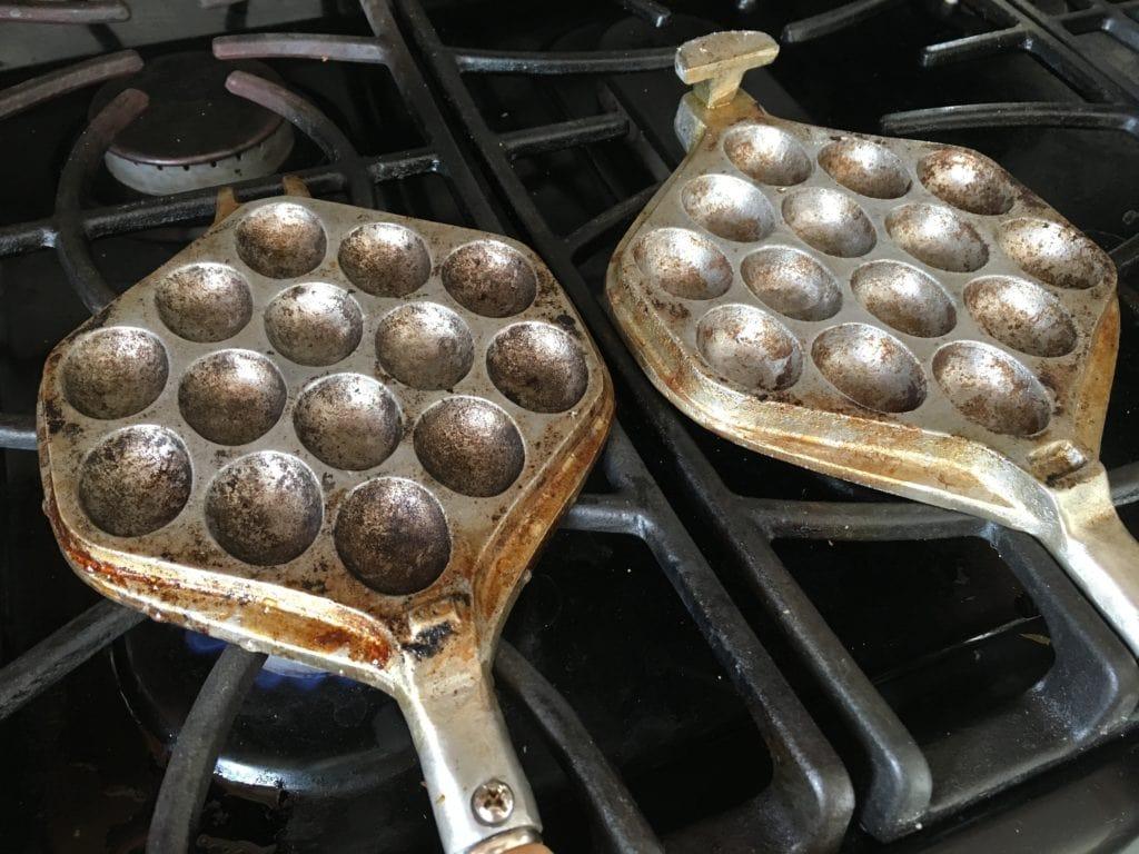 Hong Kong egg waffle pan