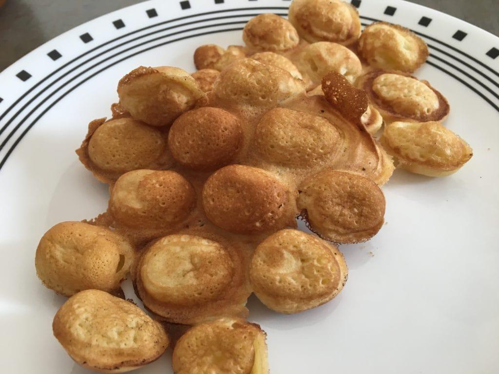 Hong Kong egg cakes ready to eat
