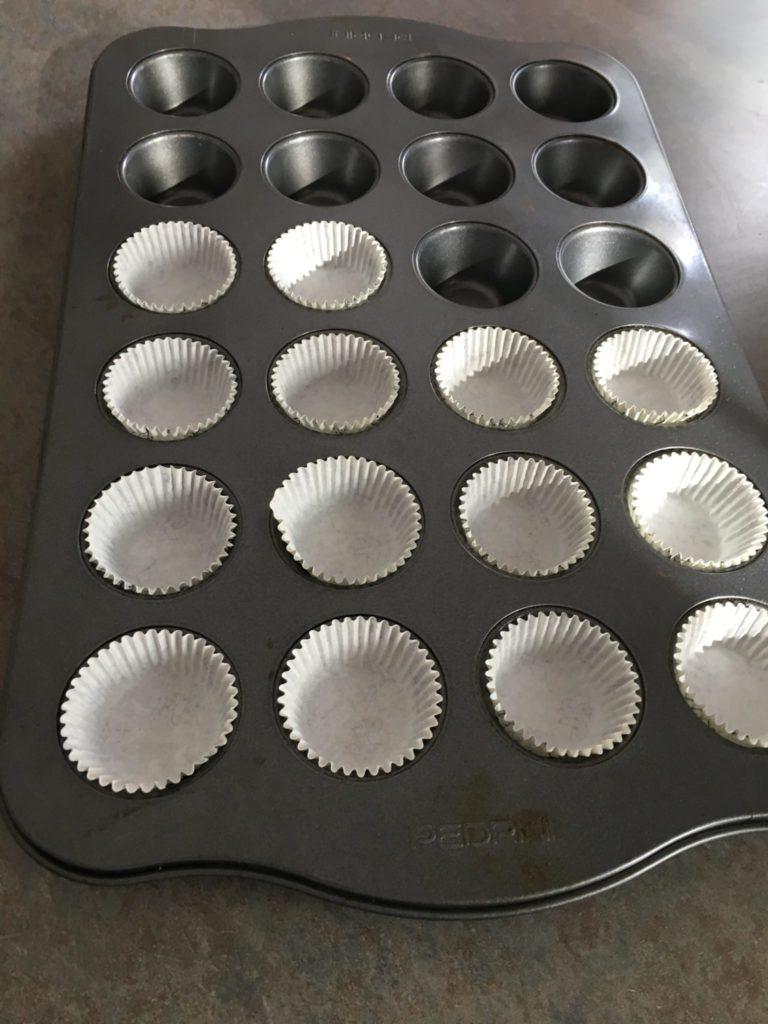 coconut clusters recipe mini muffin liner
