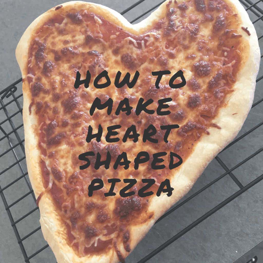 Heart shaped pizza cover