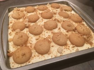 finished banana pudding recipe