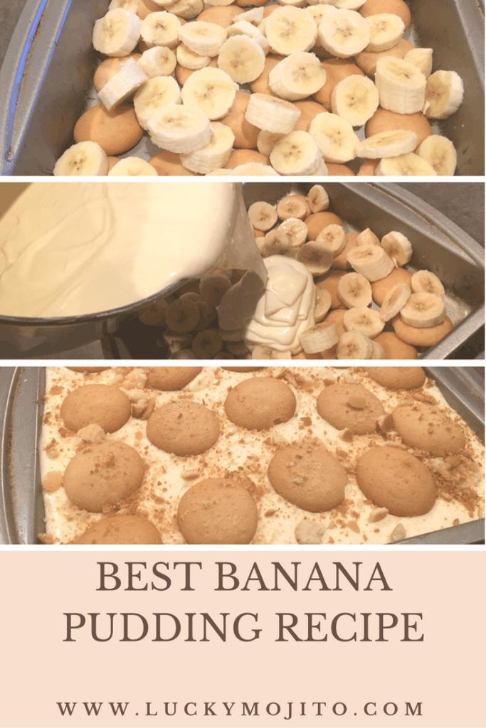 best banana pudding graphic