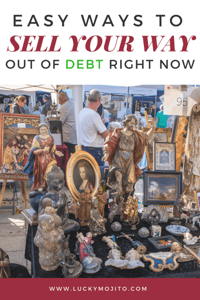 selling our way out of debt