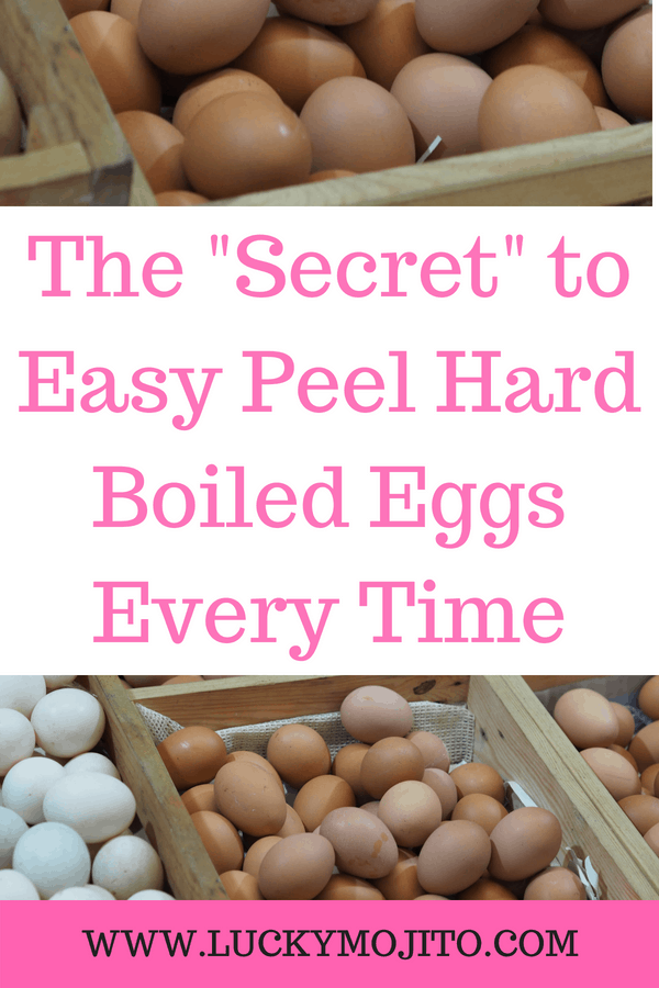 how to make easy to peel boiled eggs